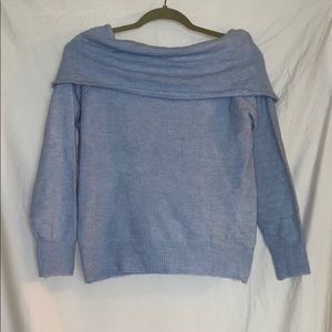 H&M Baby Blue Cowl neck Sweater